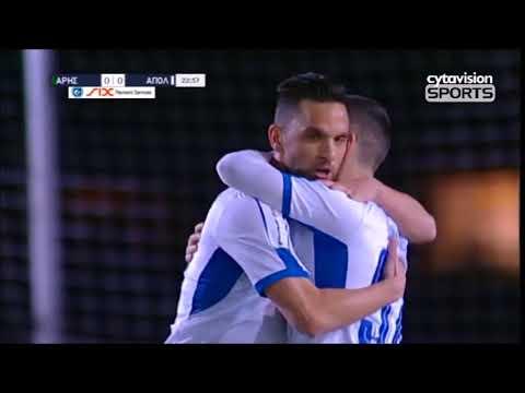 Apollon Limassol Goals 2017-2018