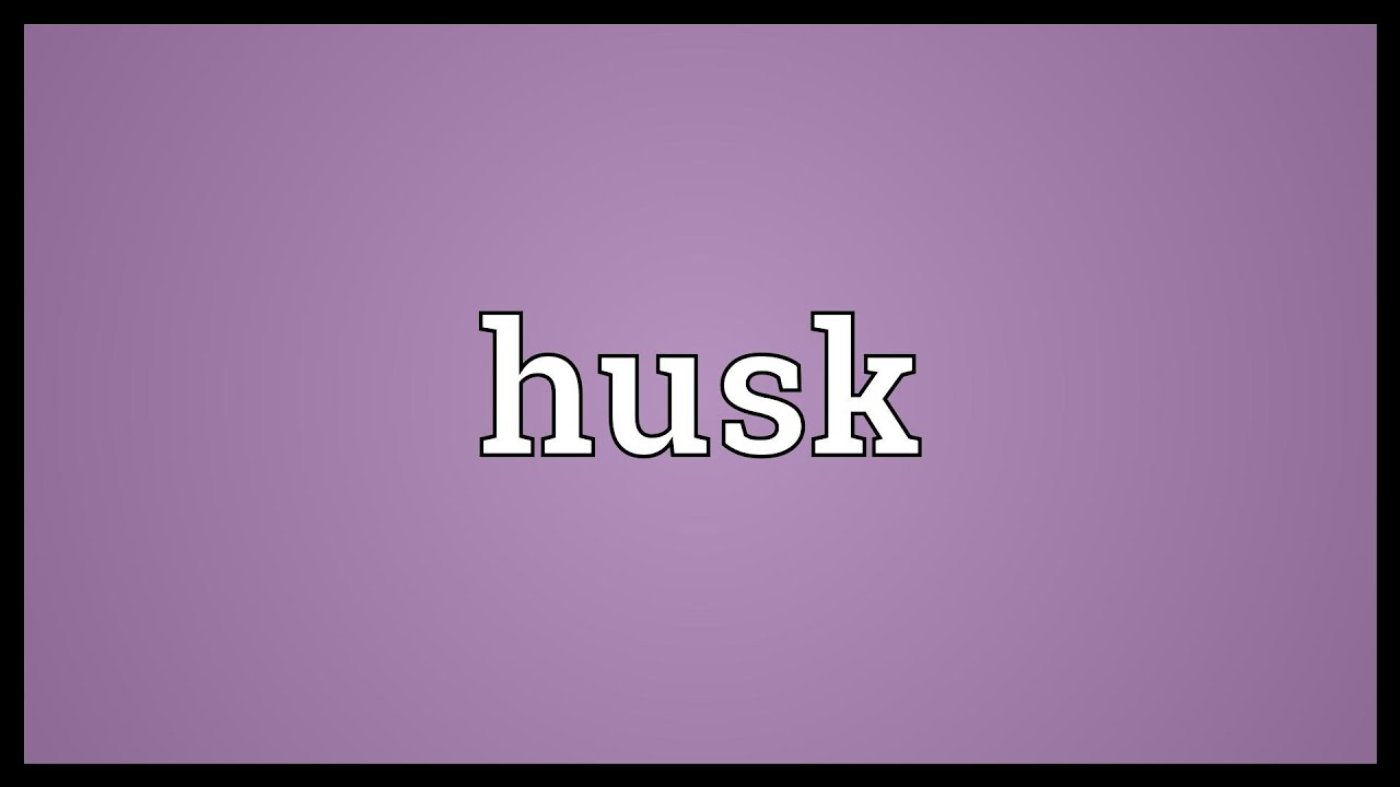 Husk Meaning