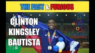 CLINTON KINGSLEY BAUTISTA got the 1st Place of 110m Hurdles Men's   2019 SEA Games - Finals
