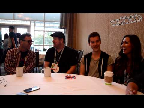 Adventure Time Interview - SDCC 2015 - Tom Kenny, Jeremy Shada, John DiMaggio, and Olivia Olson
