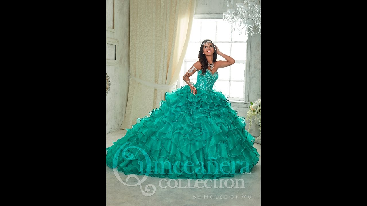 ec99c0a19a0 House of Wu Quinceañera Dress Style  26832 - YouTube