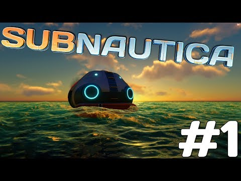 I LOVE THIS GAME!! | Let's Play Subnautica (Full Release) #1 | [Underwater Survival Gameplay]