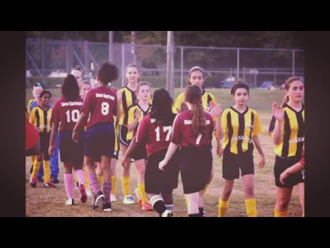 New Springs Schools Girls Soccer Team