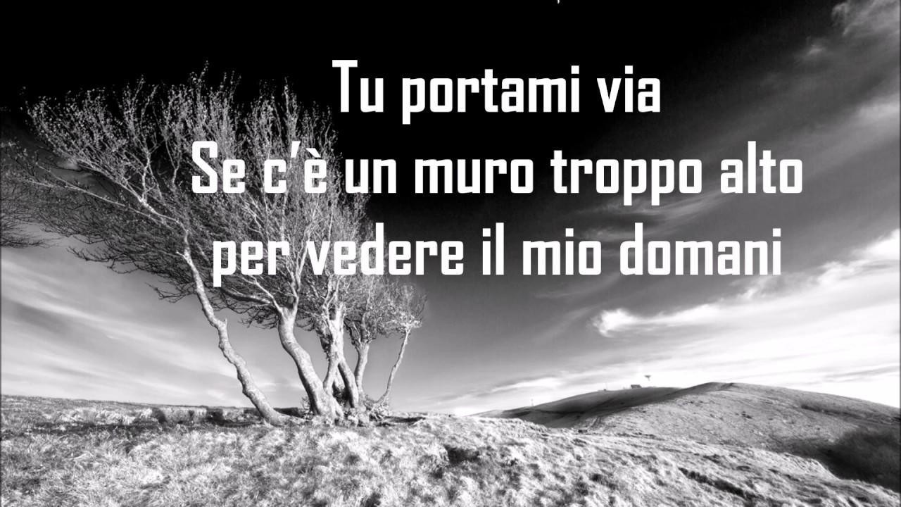 Fabrizio Moro Portami Via Testo Lyrics