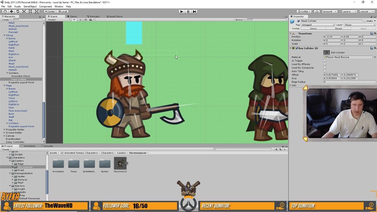 Making a Platformer Game in Unity #gamedev