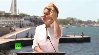 """Мария Захарова, Крым: """"что-то ребята вы с ветром не доработали"""""""