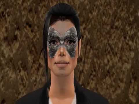 Michael Jackson - Behind The Mask (Sims 2 Version)