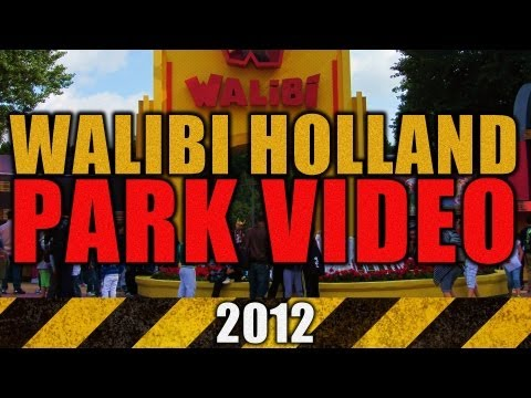 Walibi Holland 2012 Parkvideo - Goliath Xpress Speed of Sound Robin Hood Club Psyke El Condor