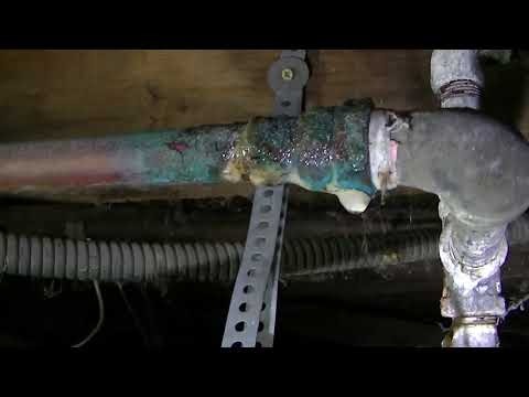 steam shower plumbing hook up