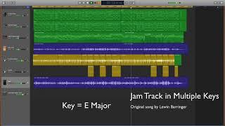 Jam Track in Multiple Keys