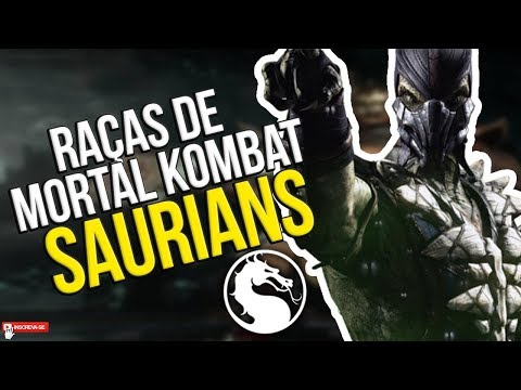 MORTAL KOMBAT - RAÇAS DE MK #2 SAURIANS #CURIOSIDADES thumbnail