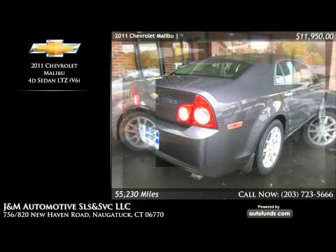 Used 2011 Chevrolet Malibu | J&M Automotive Sls&Svc LLC, Naugatuck, CT - SOLD