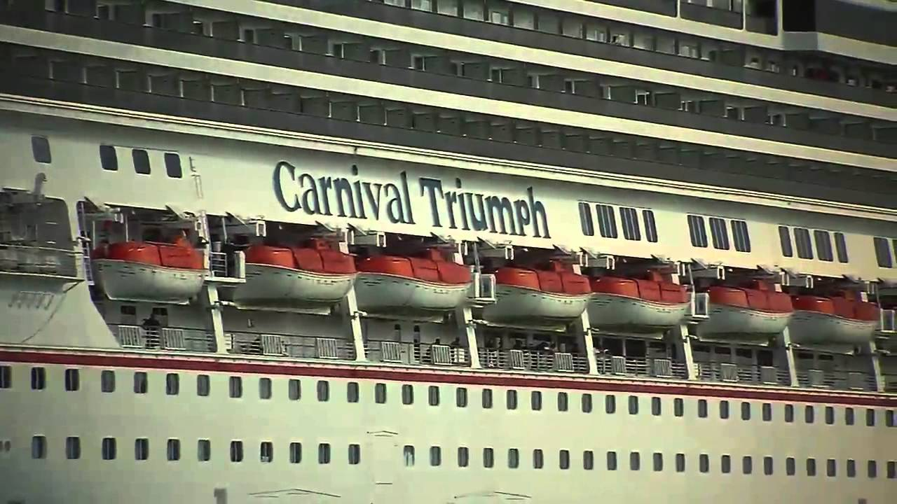 Carnival Triumph Will Cruise Into The Port Of New Orleans In - New orleans cruise ship terminal