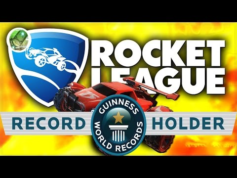 Rocket League WORLD RECORD! Most Goals Scored EVER