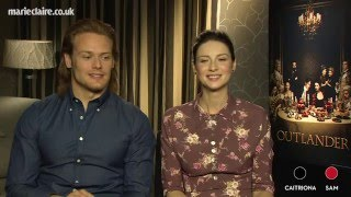 Mr and Mrs with Outlander stars Caitriona Balfe and Sam Heughan