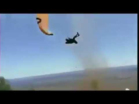 Australia Dust Devil Paragliding