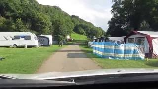 Watermouth Valley Camping and caravan site, Ilfracombe, Devon