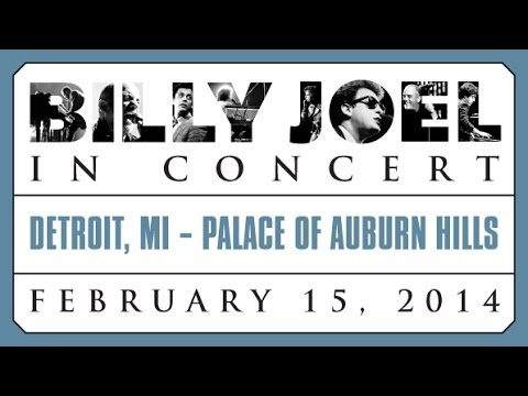 Billy Joel At The Palace Of Auburn Hills February 15, 2014