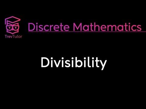 [Discrete Math 1] Divisibility