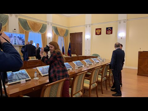Представление врио губернатора  Мурманской области Андрея Чибиса