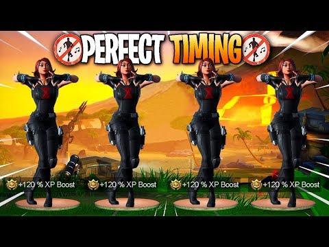 Fortnite - Perfect Timing Moments #30 (Season 8 Dances, Emotes)