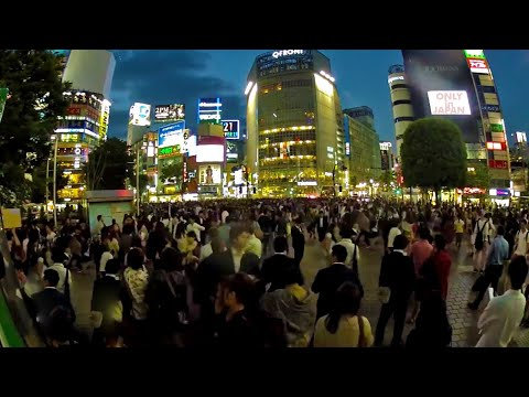 Shibuya's Hachiko Scramble in 24 Hours ★ ONLY in JAPAN