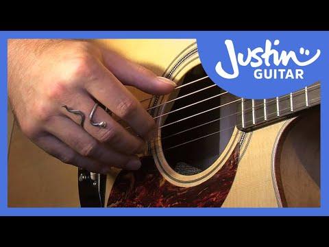 Basic Fingerstyle - Travis Finger Picking - Folk Guitar Lesson [FO-108]