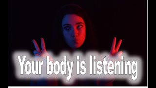 You're (*body is listening*)  taught by (*Jack Canfield*)