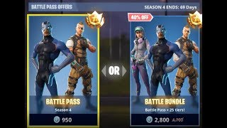 EVERYTHING IN BATTLE PASS | FORTNITE SEASON 4 CZ/SK | AAYRII | | AAYRII