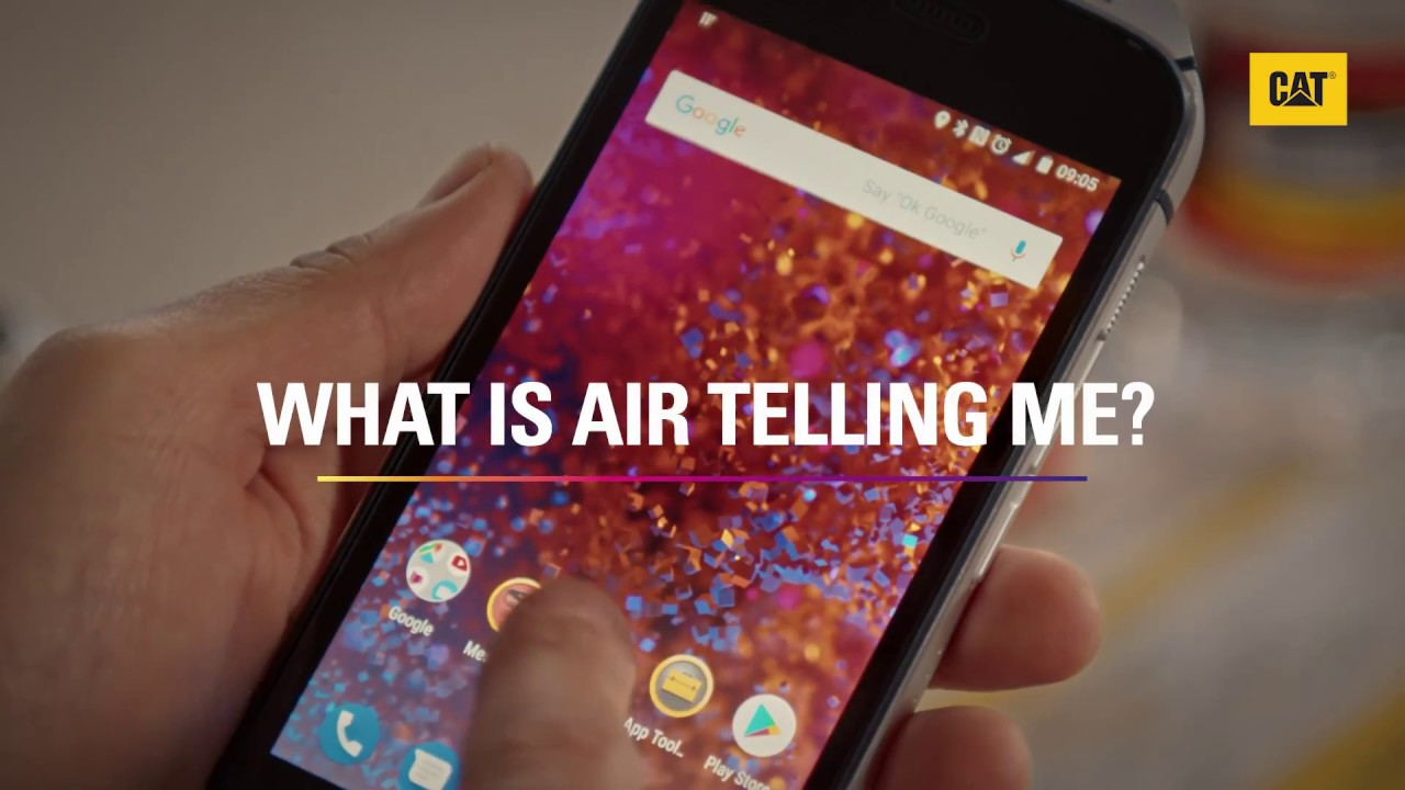Cat® S61: What is Air Monitor Telling Me? | Cat phones