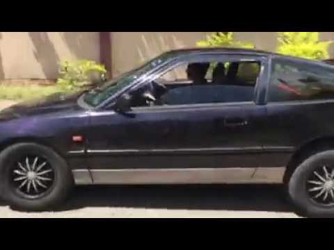 Honda CRX Sri Lankan Sport Car