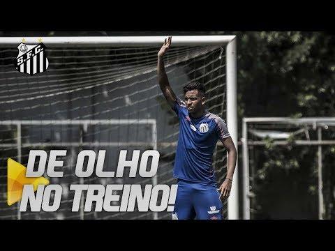 SANTOS TREINA MIRANDO A COPA DO BRASIL | DE OLHO NO TREINO (02/04/19)