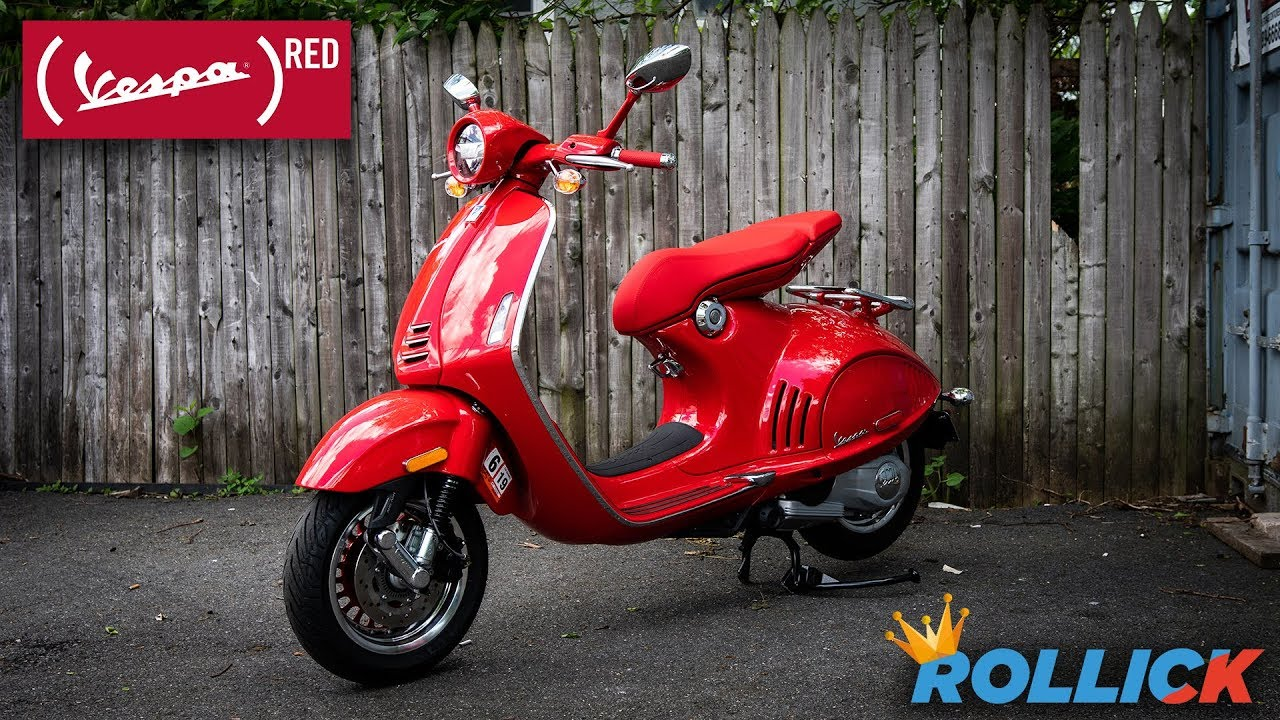 Vespa 946 Product (RED) Test Ride Review [EXPENSIVE]