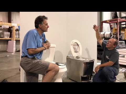 Incinerator Toilet Not Composting Toilet Off Grid Toilet Waterless Toilet