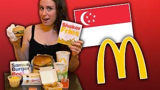 The TASTIEST McDonald's in Singapore ??