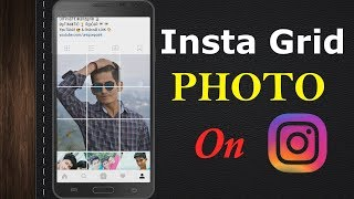 HOW TO POST INSTA GRID PHOTO ON INSTAGRAM || UNIQUE POINT