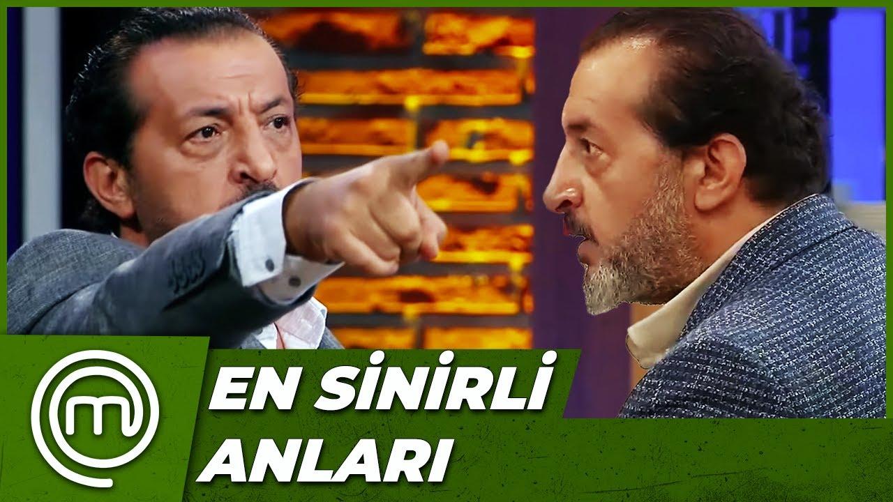 Mehmet Şef'in Çileden Çıktığı Anlar   MasterChef Türkiye