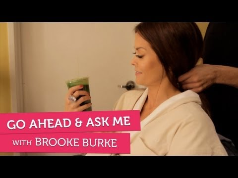 What Does Brooke Burke Eat On Typical Day? -  Go Ahead & Ask Me