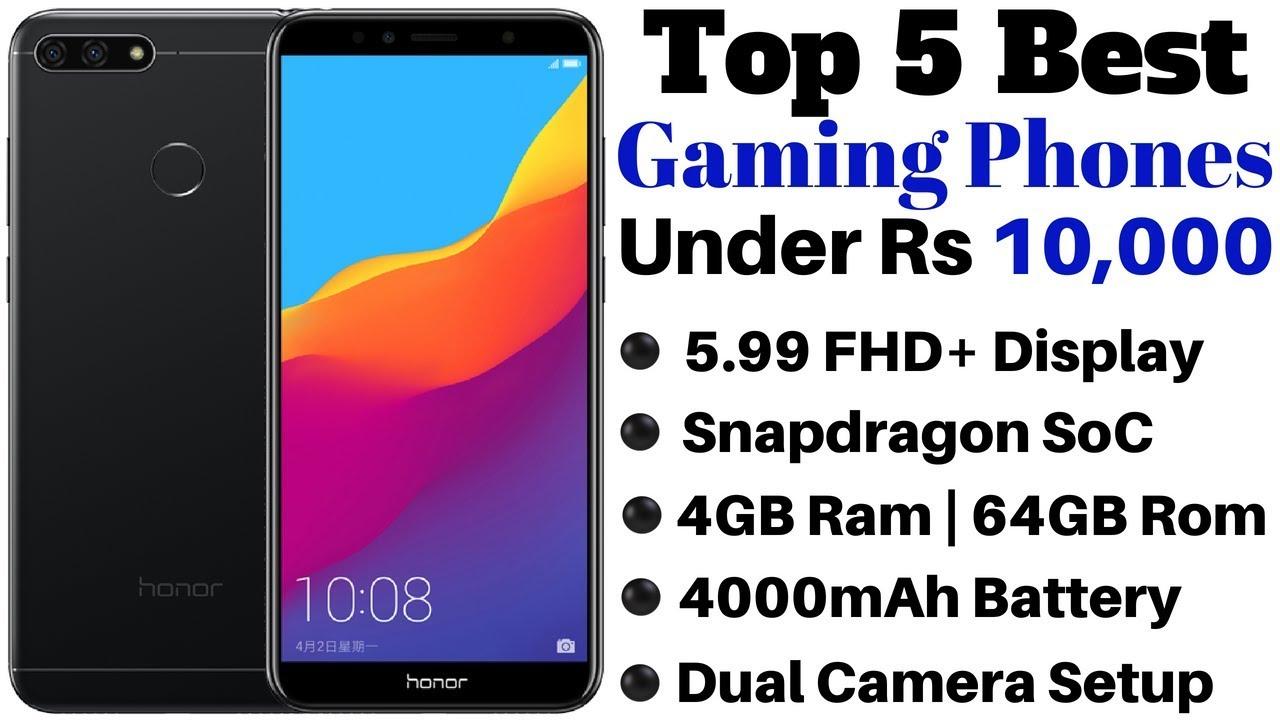 af5d2d9d2 Top 5 Best Gaming Smartphones Under Rs 10000