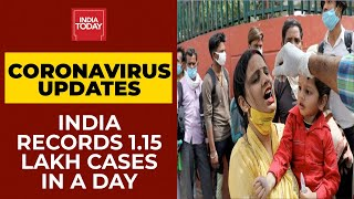 Covid-19 News: Second Wave Of Coronavirus Grips India; 1.15 Lakh Cases Reported In Last 24 Hrs
