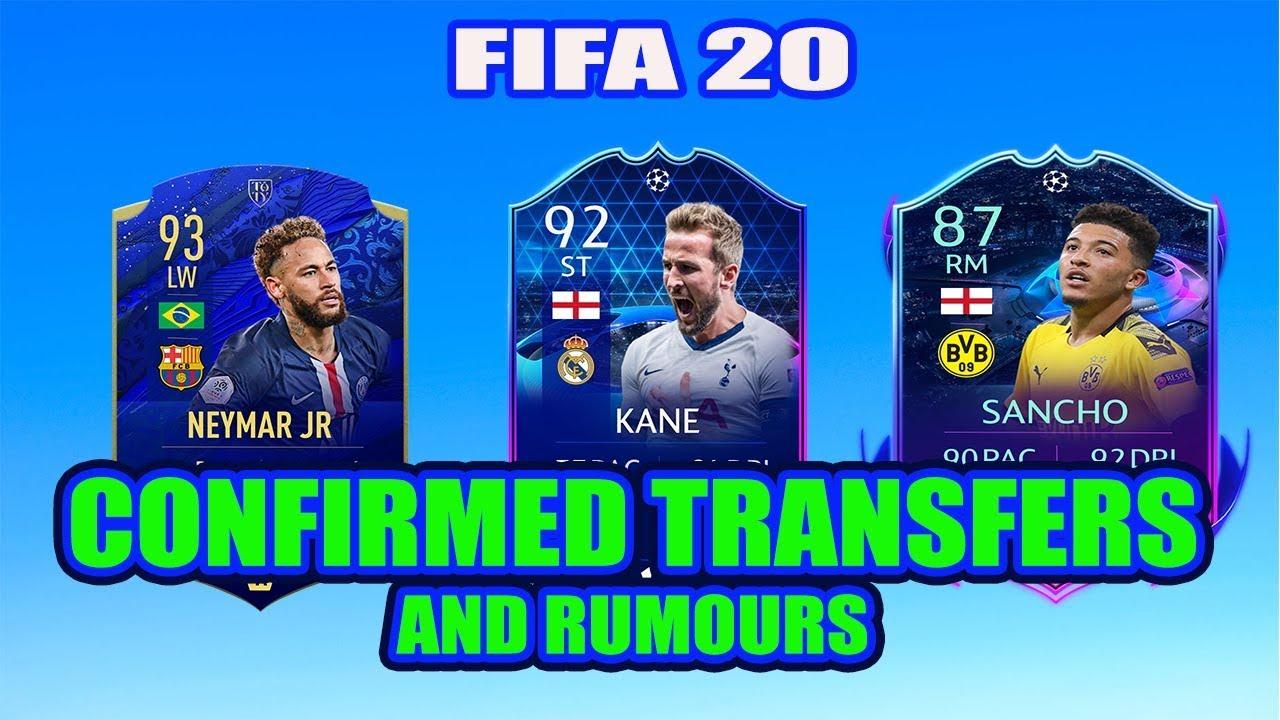 fifa 20 new confirmed transfers rumours 2020 neymar. Black Bedroom Furniture Sets. Home Design Ideas