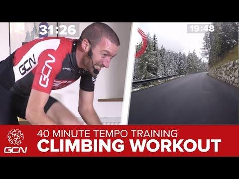 Epic Climbing Workout: 40 Minute Tempo Cycling Training On The Passo Falzarego & Passo Valparola