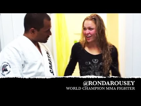 Ronda Rousey Get Sexually Harassed By BJJ Black Belt