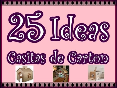 25 ideas de casitas de carton para ni os 25 ideas for Casitas de jardin infantiles
