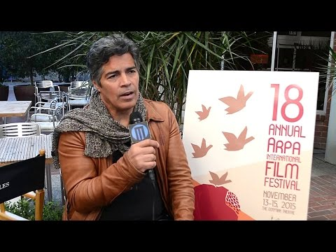 with Esai Morales