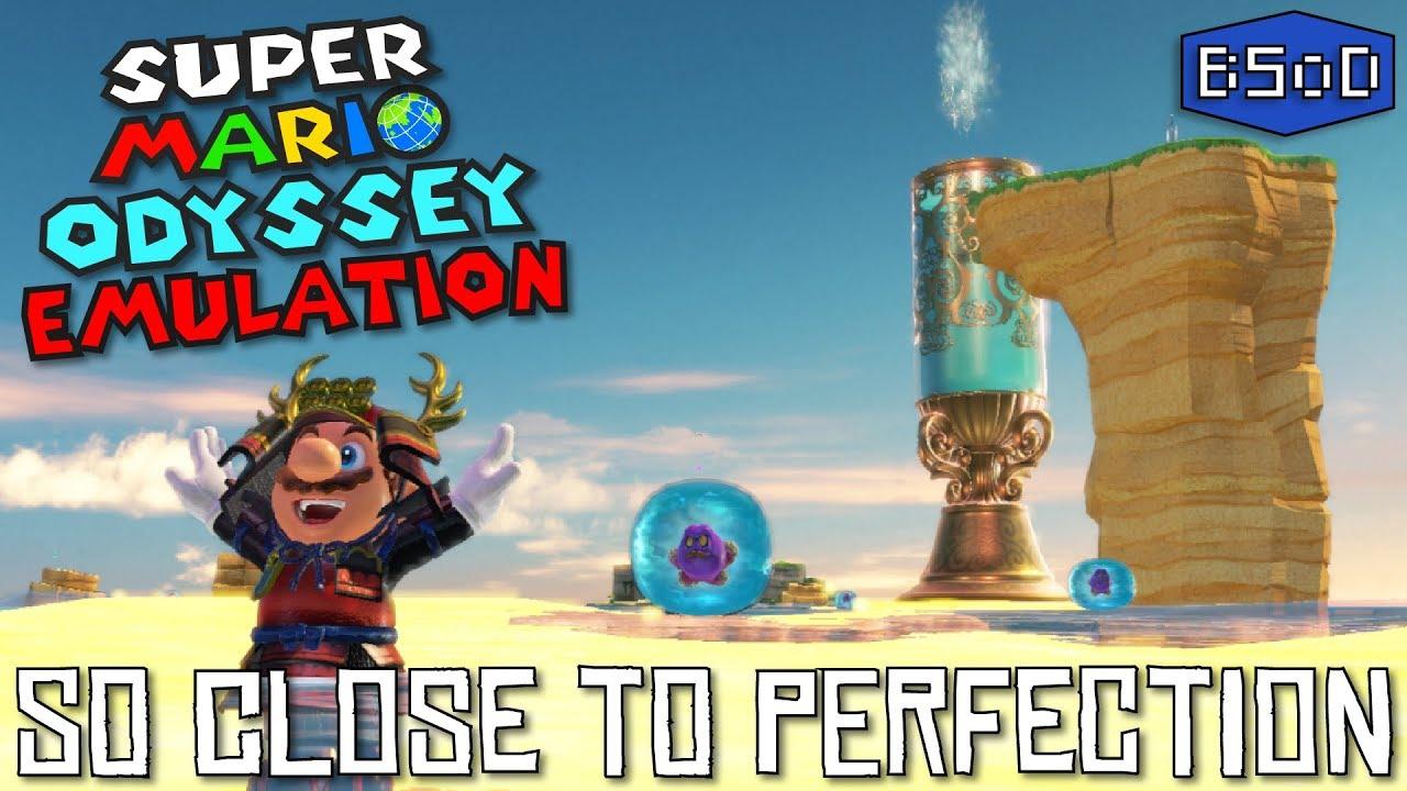 Super Mario Odyssey с оценкой 97 из 100 теперь еще лучше работает на PC — видео
