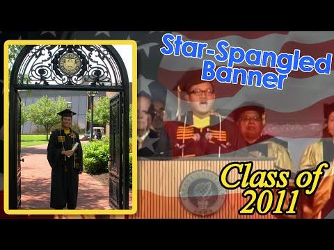 National Anthem at Bryant University Commencement 2011 - Anthony Mam