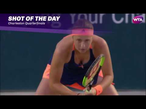 2017 Volvo Car Open Quarterfinals | Shot of the Day | Jelena Ostapenko