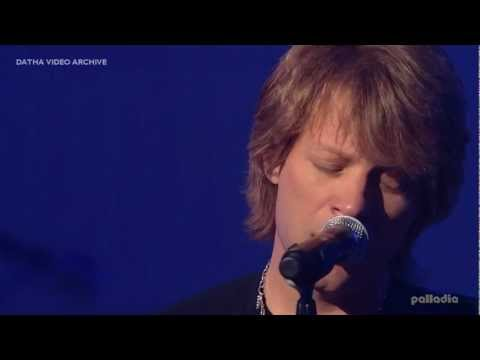 Bon Jovi - You Want To Make A Memory (Unplugged HD)