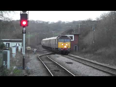 Norther Belle - Train from Fishguard Harbour